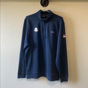 Under Armour Heat Gear Ryder Cup Pullover Sz XL